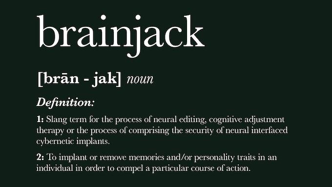 Brainjacked - A Cyberpunk campaign setting for FATE core