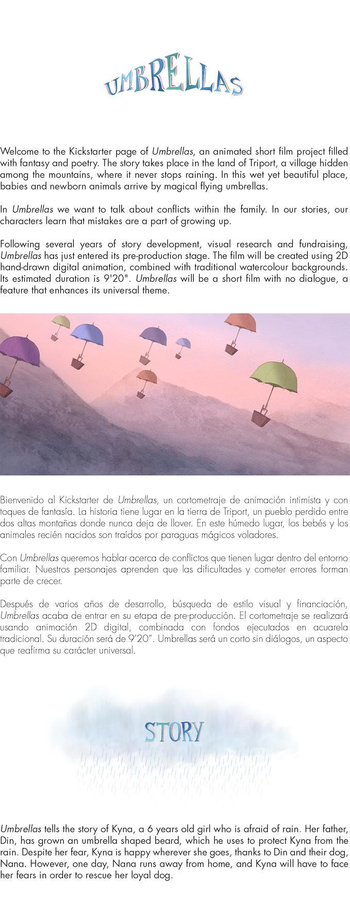 Umbrellas - an animated short film