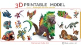 Alebrijes for the world #1 - 3D Printable Models thumbnail