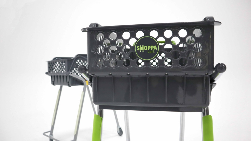 ショッピングモールでカートを返却しに行くのが面倒な時にとっても便利なレジバスケット「SHOPPA CART」