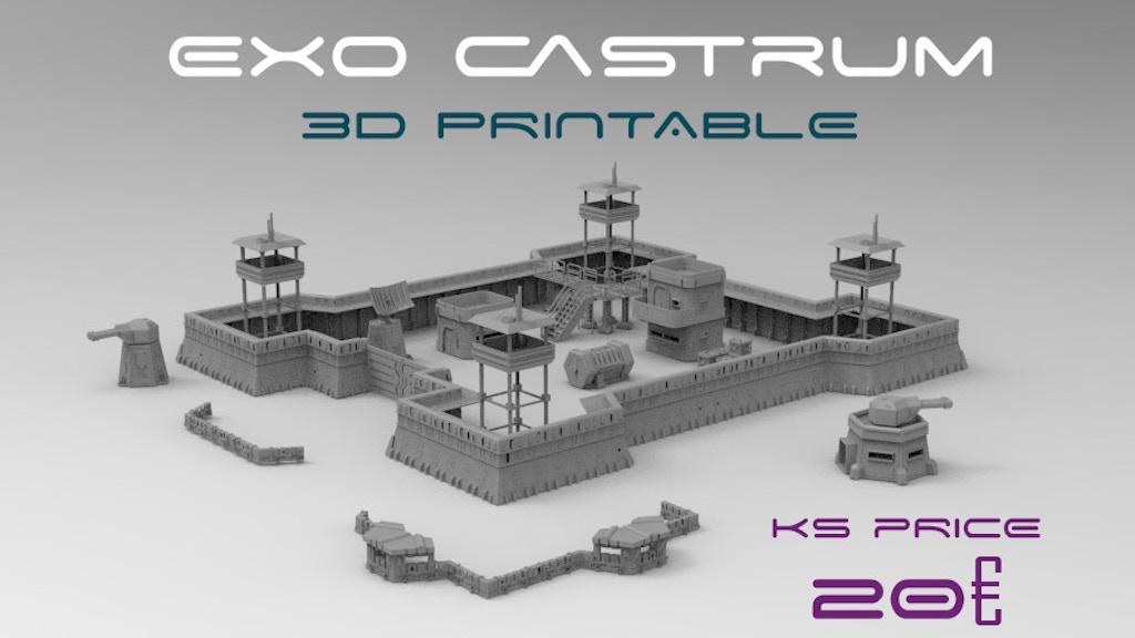 Project image for Exo castrum - 3d printable terrain