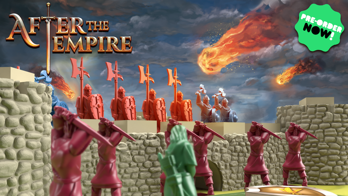Build your castle, prepare your troops and survive the siege in this competitive worker placement and tower defense game