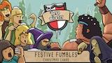 Hero Master: Festive Fumbles - RPG humour Christmas cards thumbnail