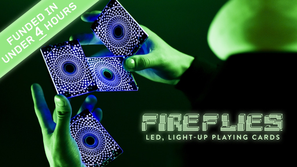 Fireflies: LED, Light-up Playing Cards project video thumbnail