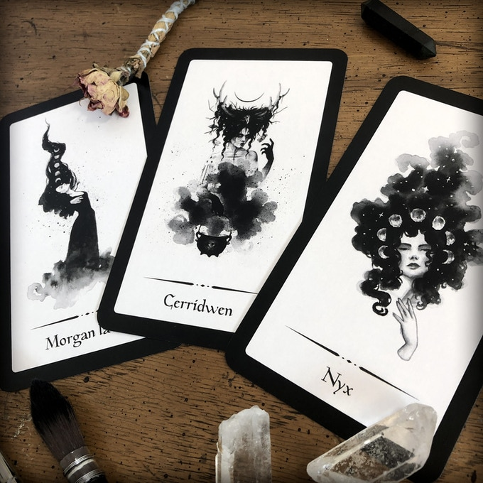 Witches of Legend: An Oracle Deck