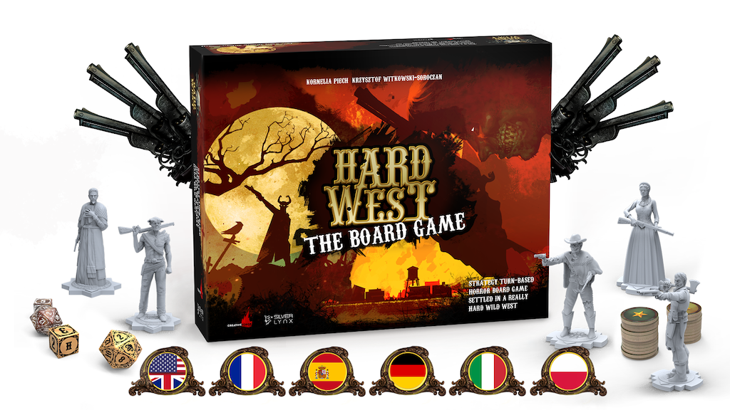 Hard West ⏤ The Board Game project video thumbnail