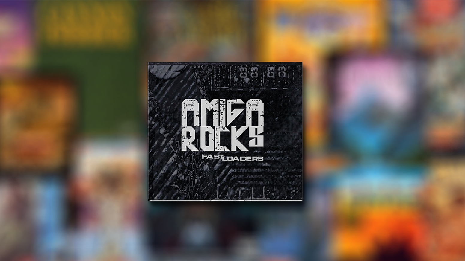 Triple album of Amiga game music in rock/metal renditions by FastLoaders.