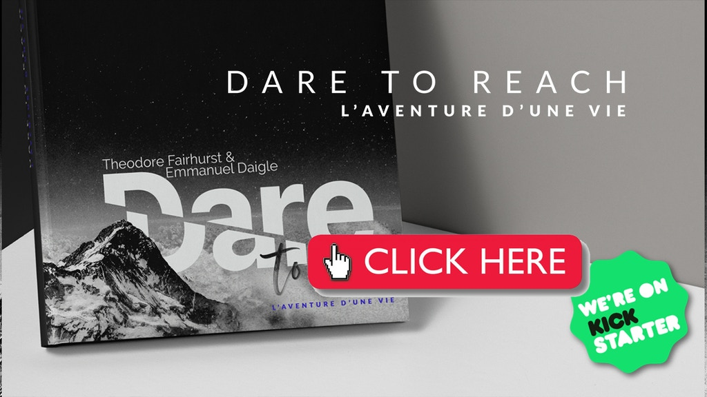 DARE TO REACH, L'aventure d'une vie | Book EN/FR project video thumbnail