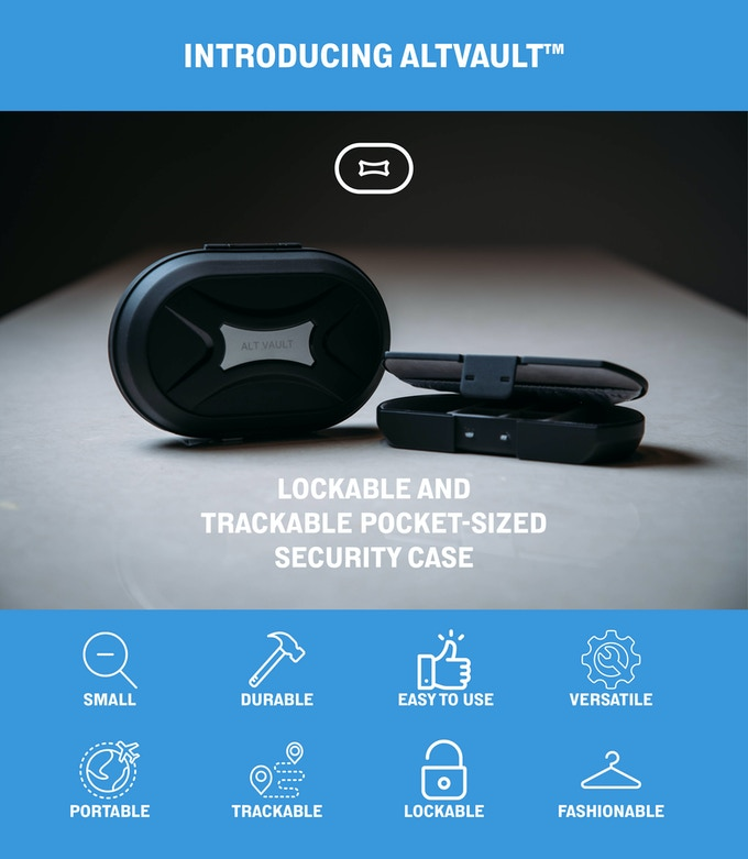 AltVault: Shatter-Proof Lockable Pocket Sized Security