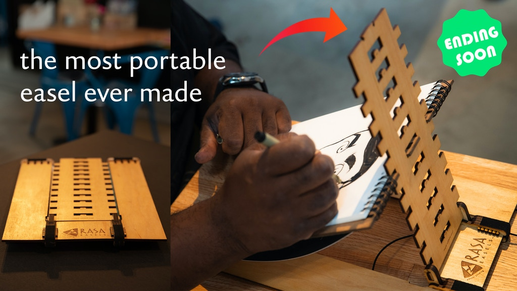 RASA Easels: A portable and refillable easel. project video thumbnail