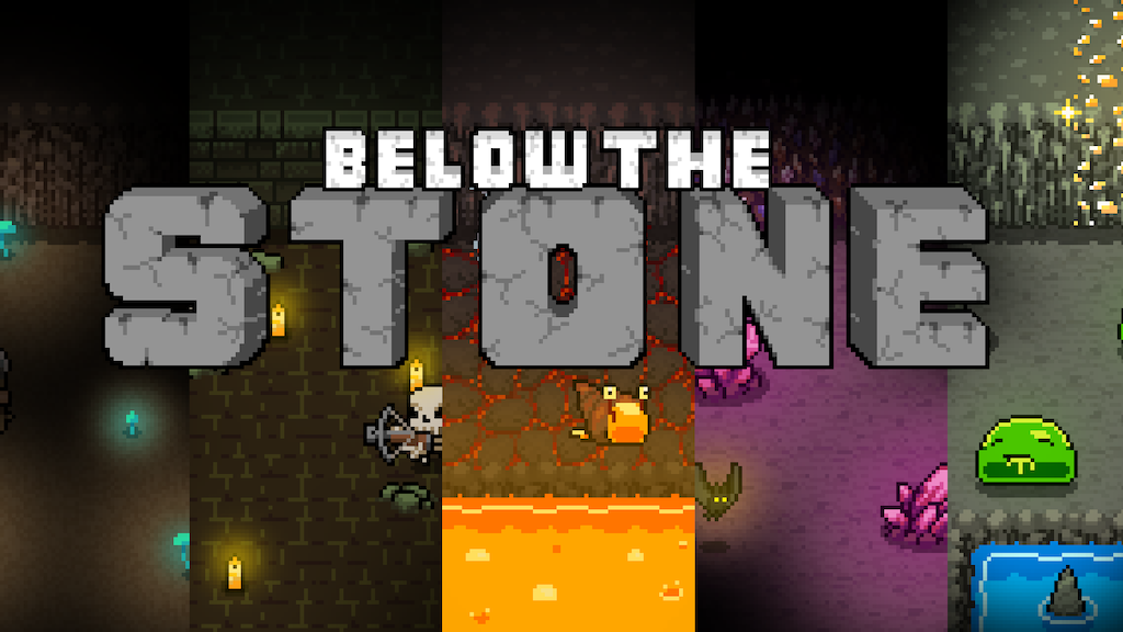 Below the Stone - A roguelite indie game about dwarves