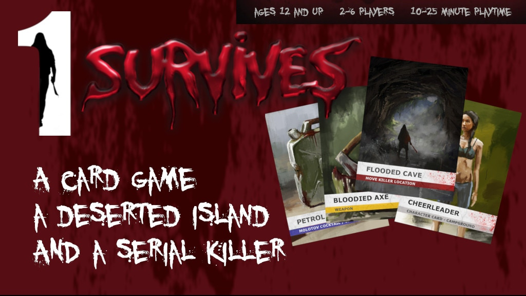 1 Survives - A horror themed / slasher card game project video thumbnail