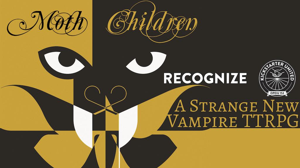 Project image for Moth Children   A Vampire TTRPG