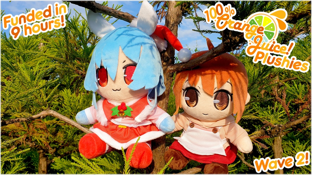 Project image for Fruitiest Orange Juice Plushies - Wave 2!