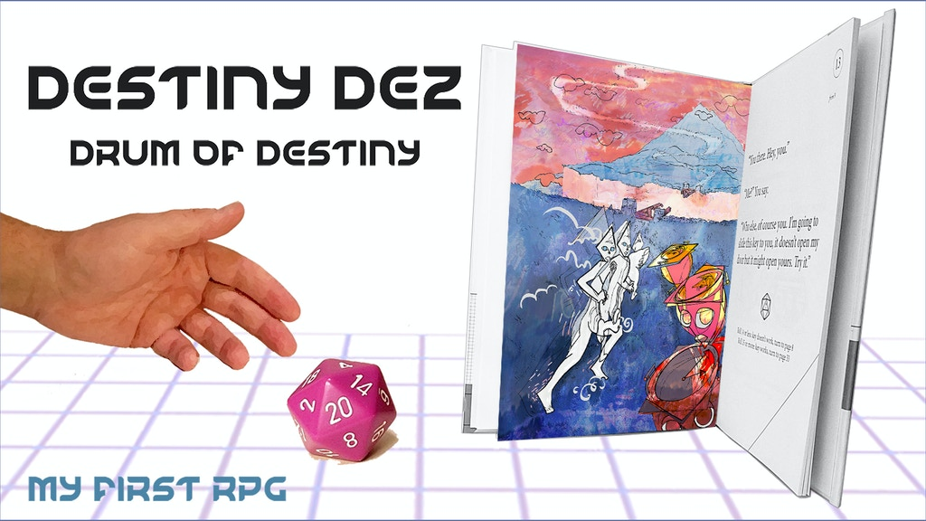 Destiny Dez, Drum of Destiny, My First RPG project video thumbnail
