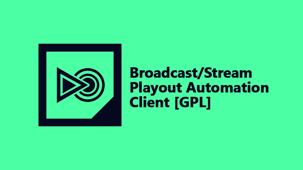 Project image for Broadcast/Stream Playout Automation [GPL]