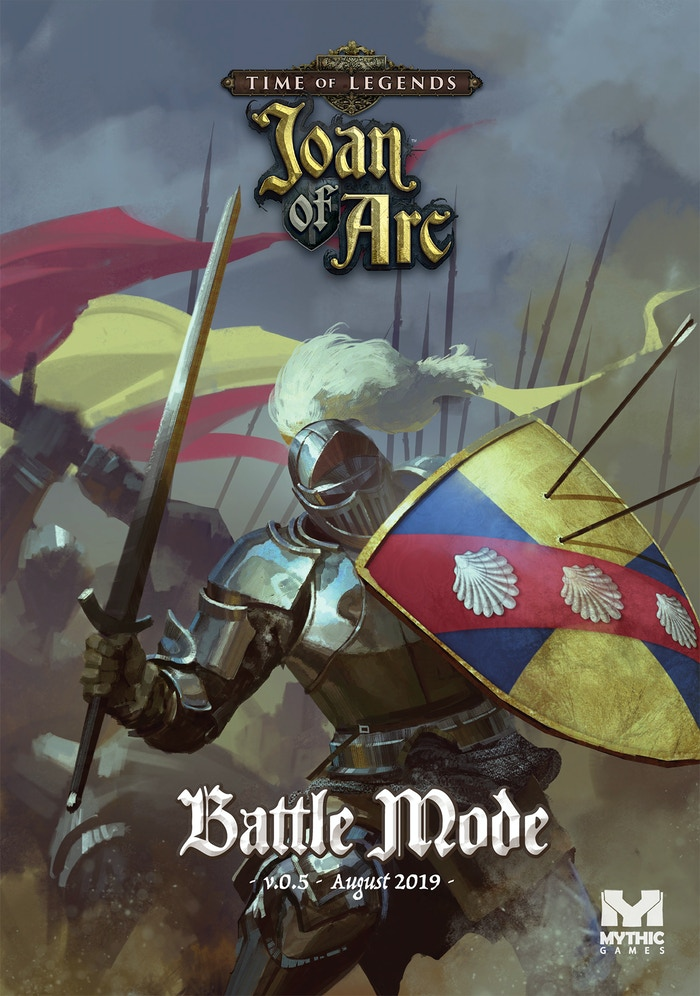 comment acheter mode la plus désirable toujours populaire Time of Legends: Joan of Arc by Mythic Games, Inc. — Kickstarter