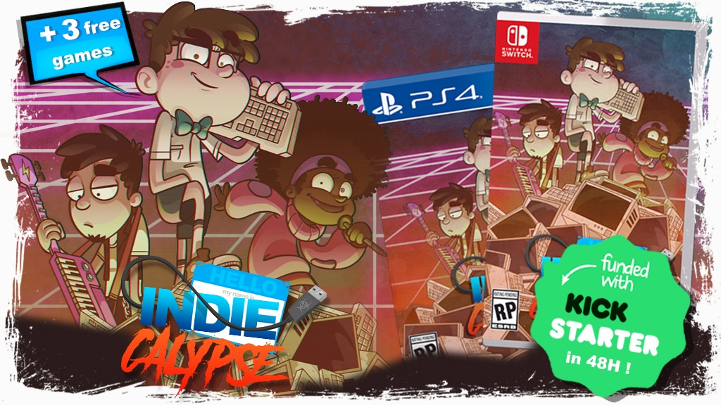 Indiecalypse - A dark humor videogame about an indie team project video thumbnail