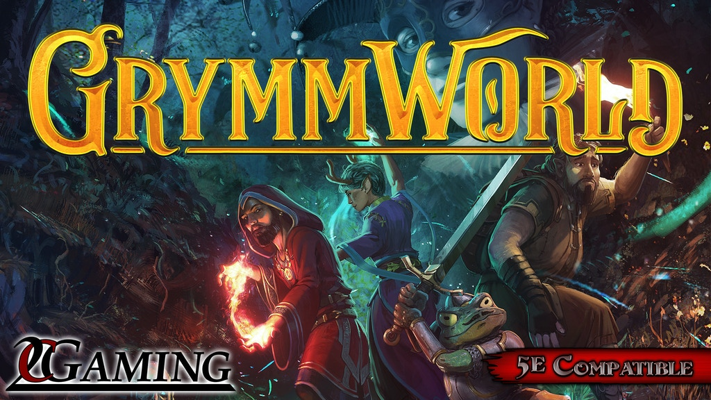 GrymmWorld - A 5th Edition Fairy-Tale Setting by Grant Ellis project video thumbnail