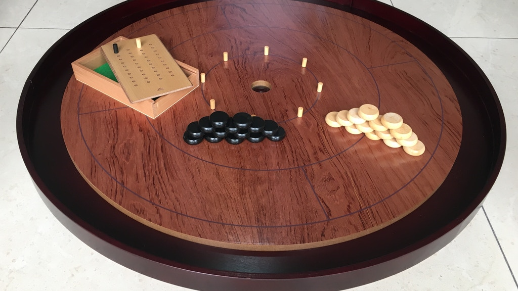 2019 Crokinole Board 2-4 Player: Maple or Rosewood! Season 2 project video thumbnail