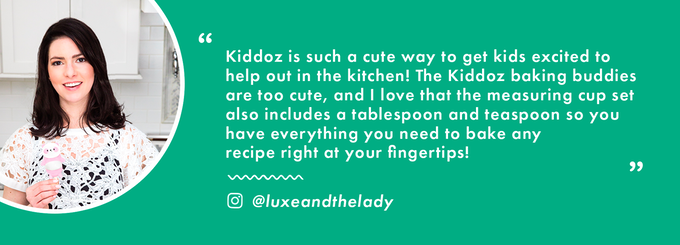 Kiddoz Interactive Measuring Cups Cookbook By Chefclub