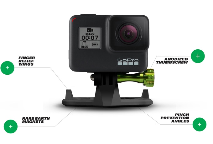 SNAP Mount: Versatile Action Camera Mount