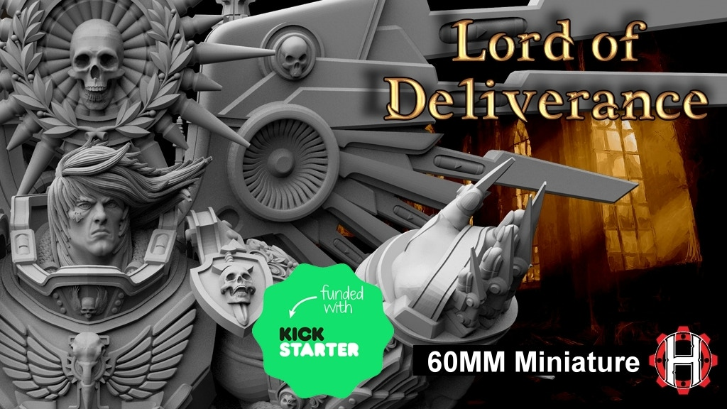 Project image for HeresyLab - Lord of Deliverance - 60mm resin and STL