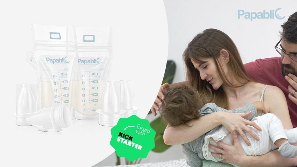 Moms Saver: Papablic Breast Milk Pump & Storage System project video thumbnail