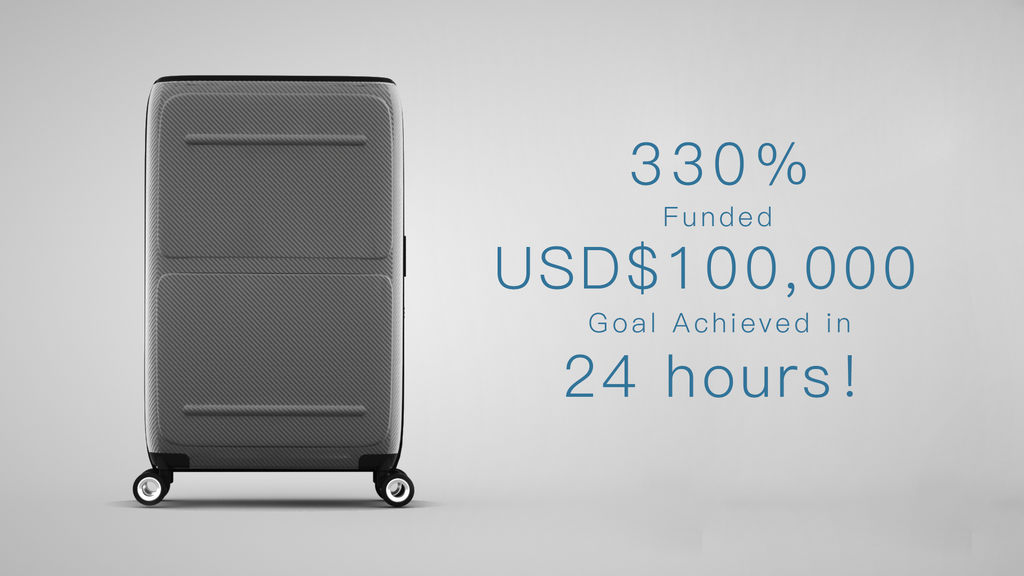SkyTrek - Your First Smart Luggage with Vertical Opening project video thumbnail