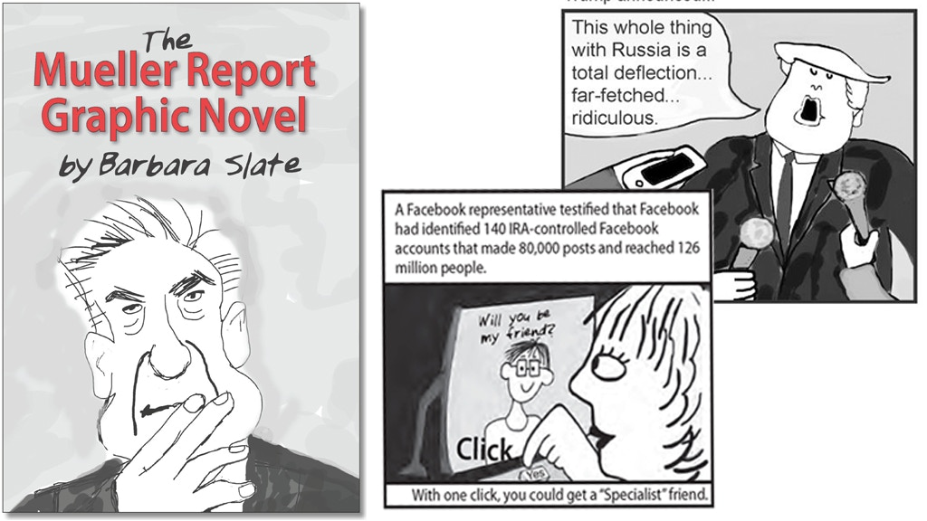 The Mueller Report Graphic Novel project video thumbnail