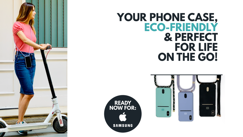 KROSSKASE |Eco-Friendly, Anti-Theft Case for life on the go!