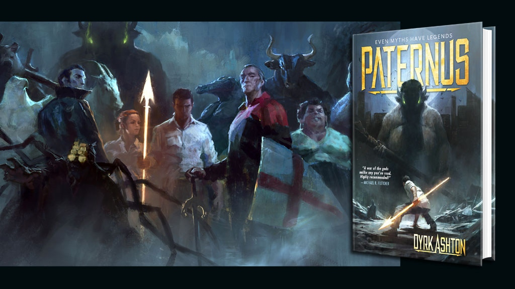 Paternus: Rise of Gods - Fantasy Novel Hardbacks project video thumbnail