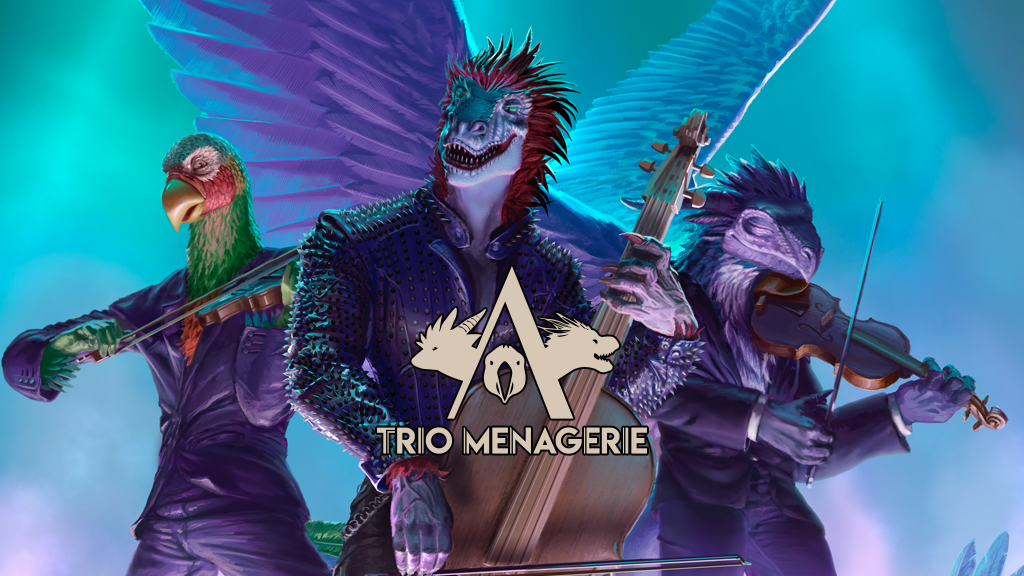 Project image for Trio Menagerie : Nerdy Music for Nerds