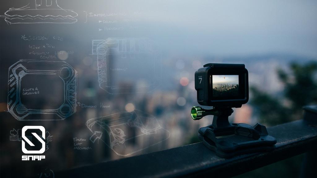 SNAP Mount: Versatile Action Camera Mount project video thumbnail
