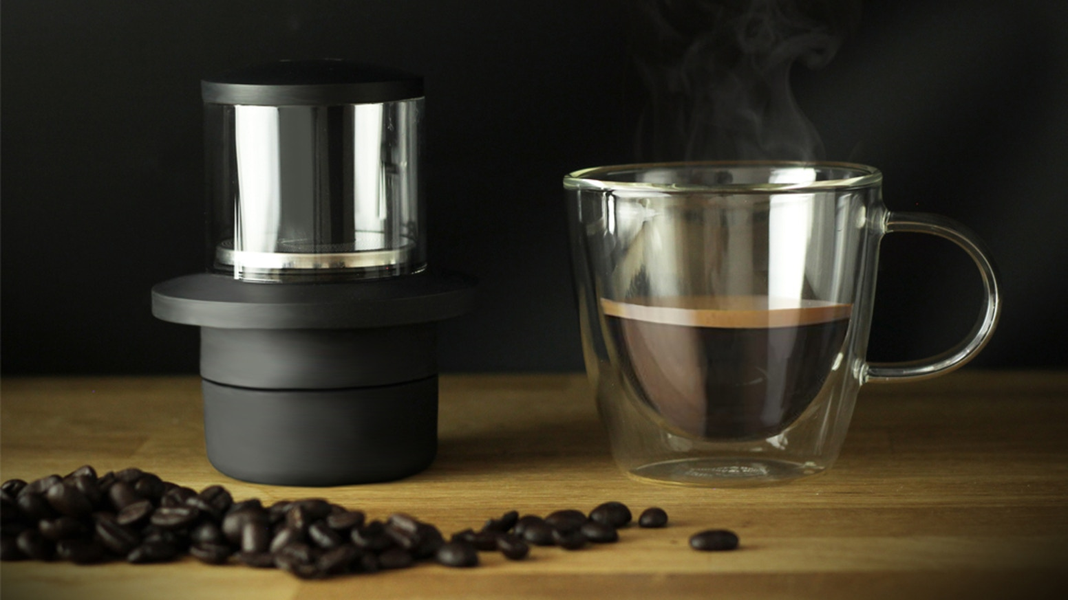 Pollution Saving Espresso Maker No Bigger than a Cup