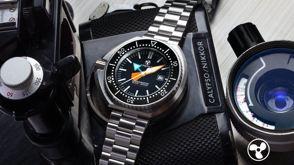 New CREPAS MEGAMATIC 1200M iconic Swiss Made Diver Watch project video thumbnail