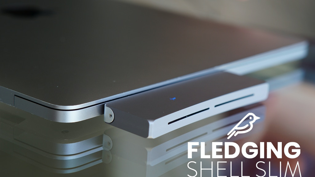 Shell Slim: A Portable, Cable-free External SSD project video thumbnail