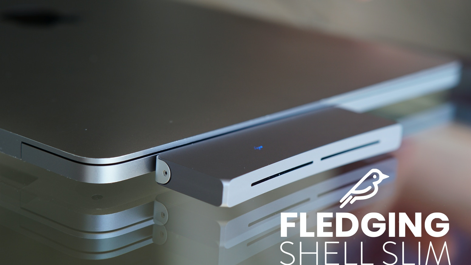 Get extra storage without the hassle of tangled cables with Shell Slim, a cableless external solid state drive.