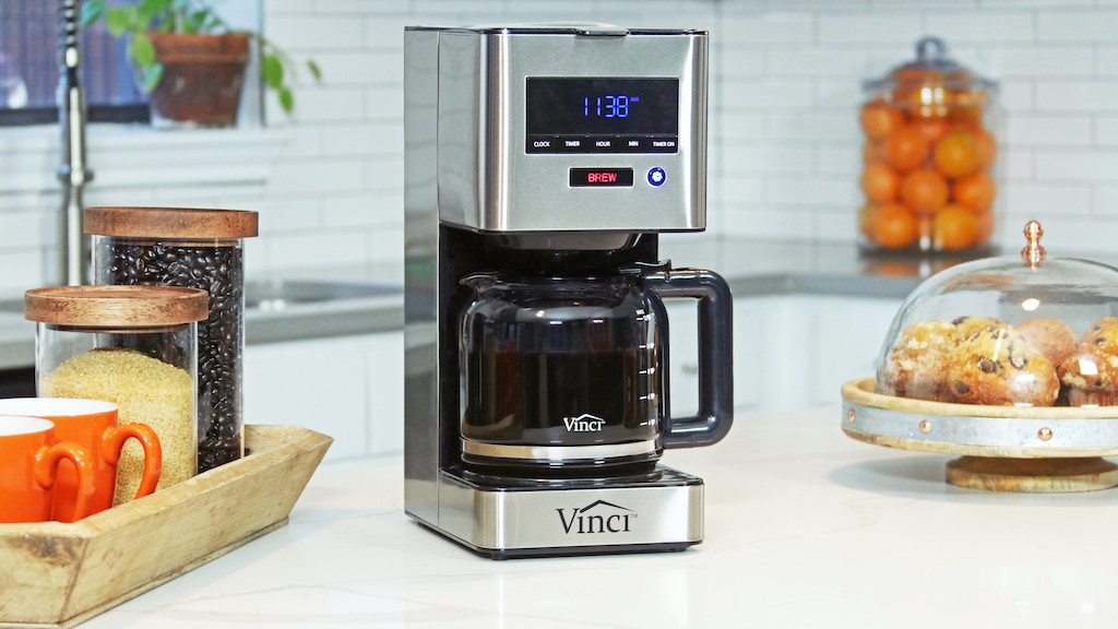 Vinci Auto Pour Over with Rotary Dispersion Brew Technology project video thumbnail