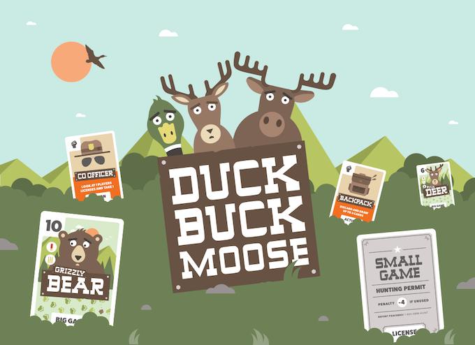 Duck, Buck, Moose - Card Game