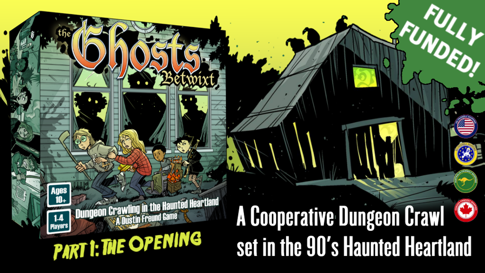 A tactical dice-rolling dungeon crawler set in the 1990s haunted heartland.