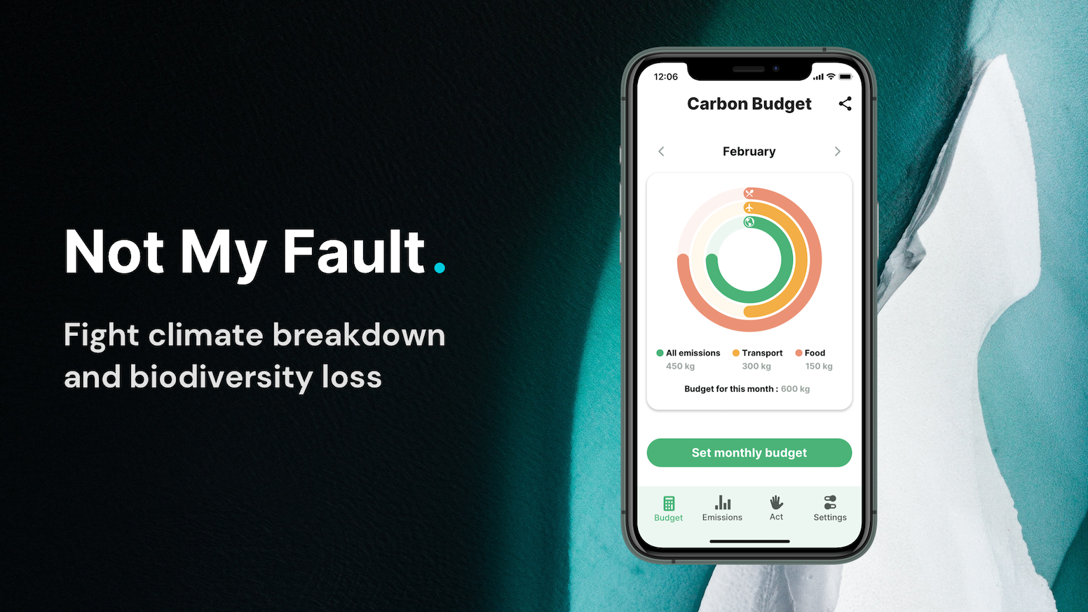 Calculate and compensate your CO2 emissions. Reduce your waste, transition to a sustainable life