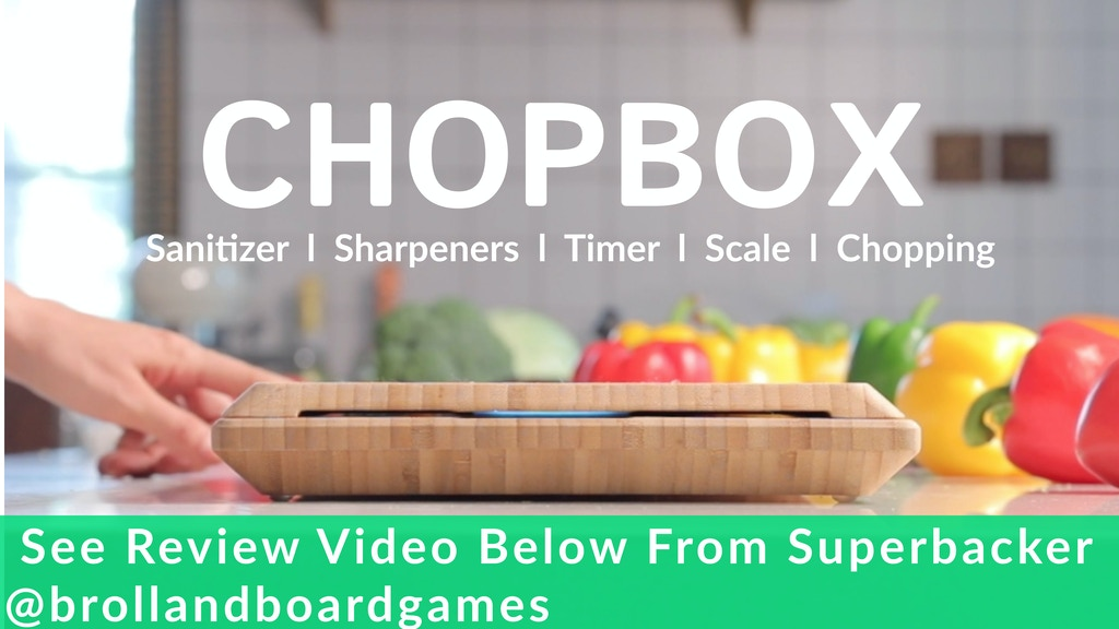ChopBox: World's First Smart Cutting Board With 10 Features project video thumbnail