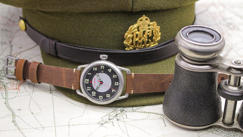 Project image for An iconic homage Trench Watch created by a History teacher.