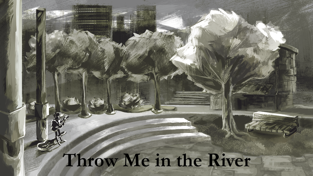 Throw Me in the River: A Visual Novel about Compressed Time