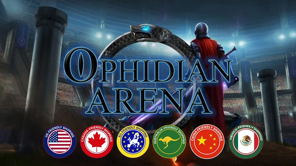 Ophidian Arena - Gladiator strategy combat game - all in one project video thumbnail