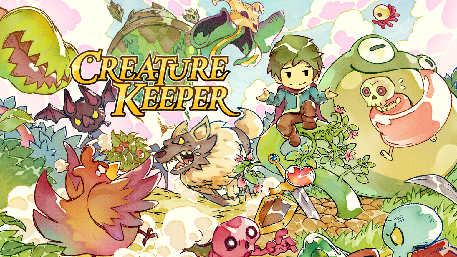 Befriend, raise, and fight alongside creatures in this Action Adventure RPG