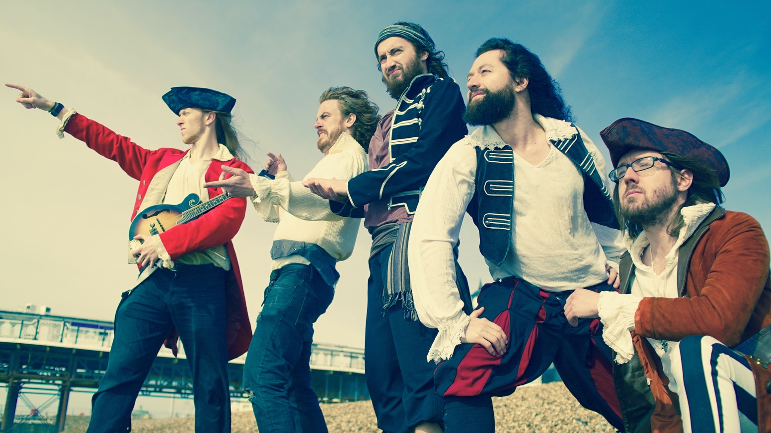 You've Crowdfunded The Captain's Beard's' second pirate folk rock album
