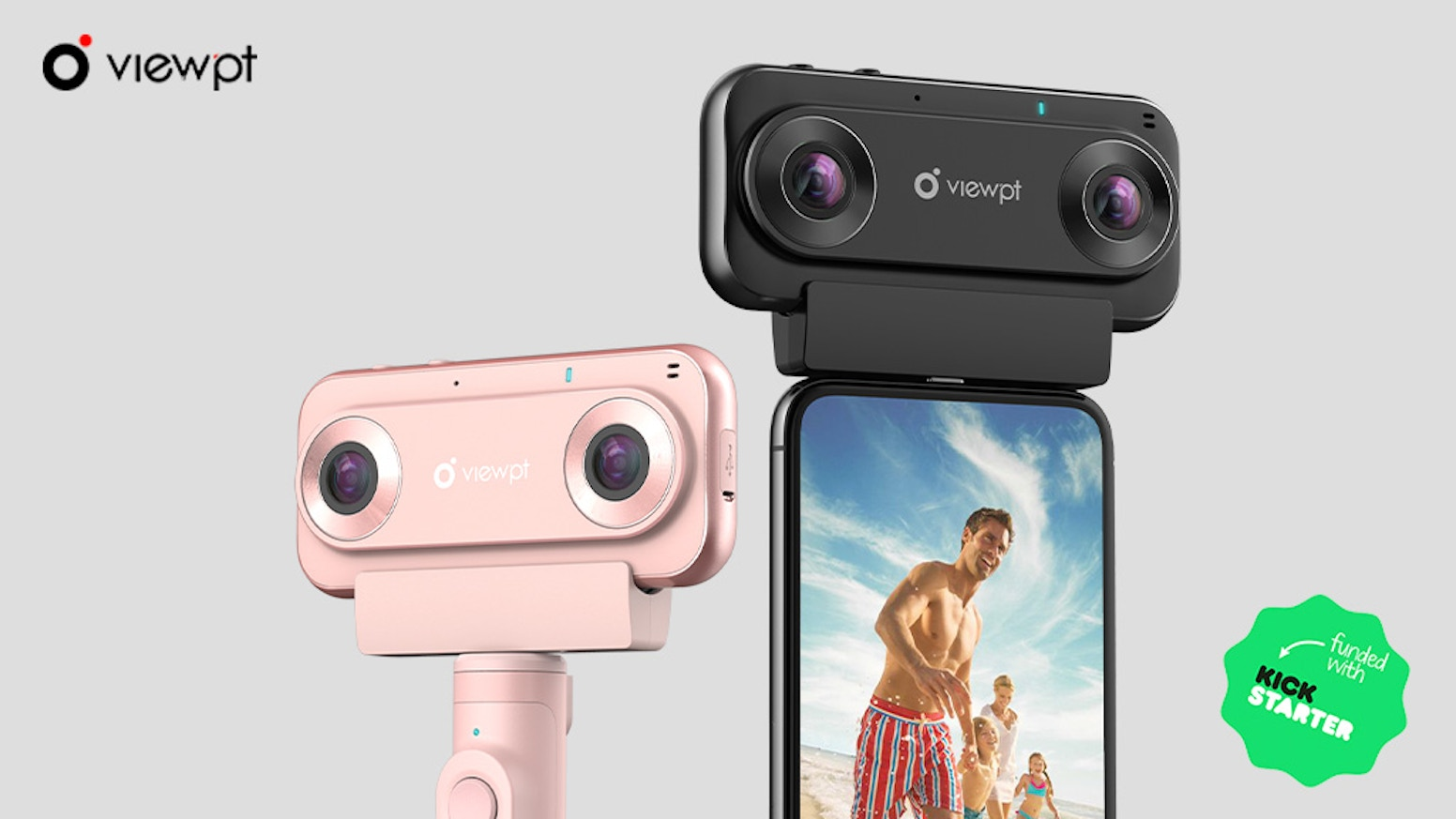 The Most Incredible Live Streaming & Capture 4k@30FPS Video VR180 Camera, Compatible with Google VR180 Specifications