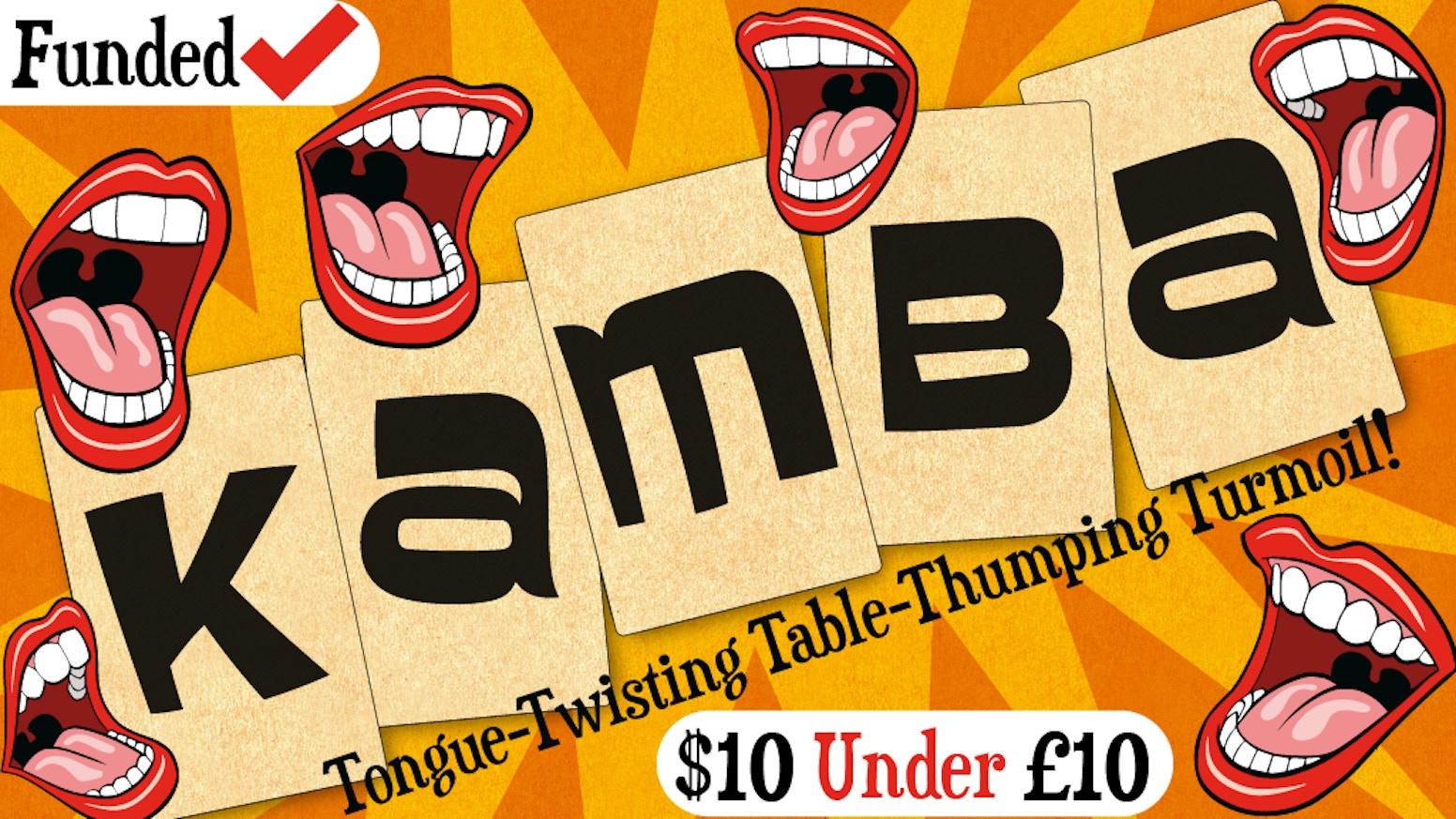 Tongue twisting, table thumping turmoil.
